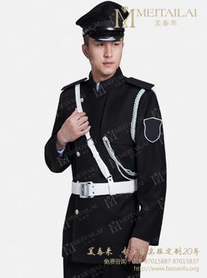 <b>秋季黑色长袖保安服</b>
