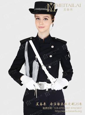 <b>灰色挂件长袖保安服</b>