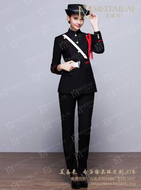 <b>黑色套装女式保安服</b>