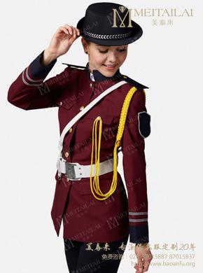 <b>女式长袖保安服外套</b>