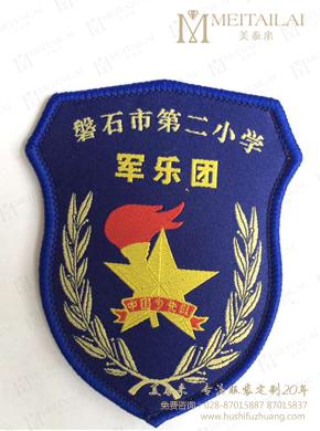 <b>蓝色保安臂章</b>